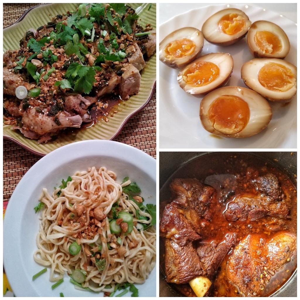 Sichuan feast